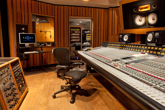 Henson Recording Studios Studio Mix Control Room Gallery